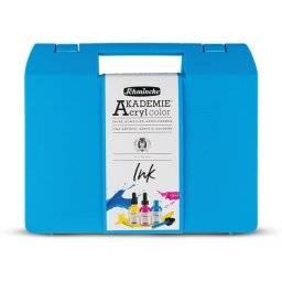 Akademie acryl inkt set 6x50ml | Schmincke