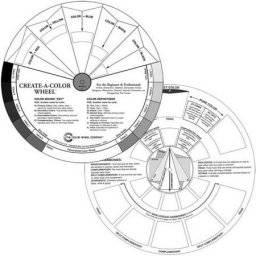 Create a color wheel | Colourwheel