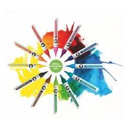 Aqua color brush marker | Molotow