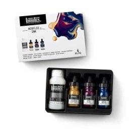 Pouring set deep colors 3699307 | Liquitex
