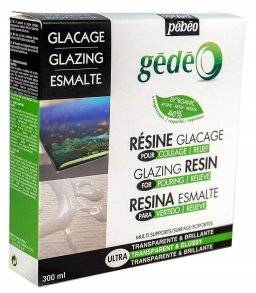 Gedeo glazing resin bio   Pebeo