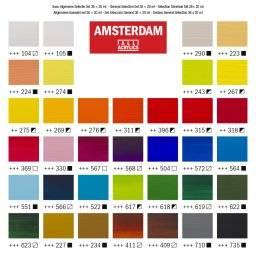 Amsterdam acrylverf set 36x20ml | Talens