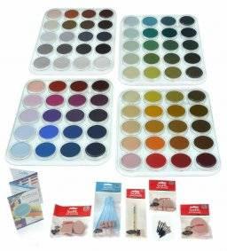 Pastel 80 colours set | Pan pastel