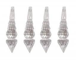 Decojewel crystal beads 9040 4st   Pronty