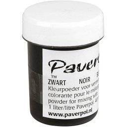 Pavercolor 40 gram zwart   Paverpol