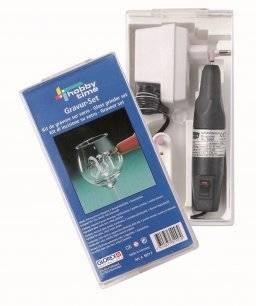 Elektrische glasgraveerset | Hobby time