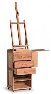 Schildersmeubel cabinet