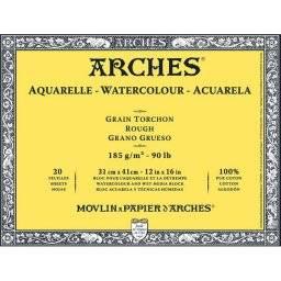 Aquarelblok 185 gram GT | Arches