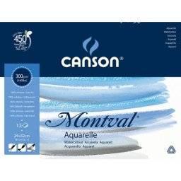 Montval aquarelblok 300 grs GF | Canson