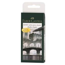 Pitt artist penset Shade of Grey | Faber castell