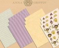 Anna griffin papiersets 2067 | Plaid