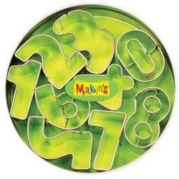 Uitsteekset blik cijfers 37002 | Makin's clay