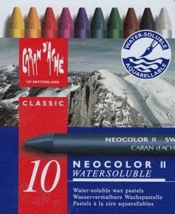 Neocolor II sets   Caran dache