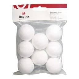 Wattenballen rond per zak | Rayher