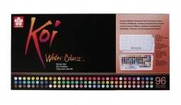 Koi watercolor box 96 kleuren | Sakura
