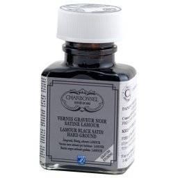 Etsgrond vernis noir satin&eacut | Charbonnel