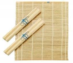 Bamboe penselenmatje elastiek   Ami