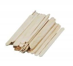 Platte houten lollystokjes | Rayher