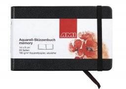 Aquarel schetsboek memory | Ami