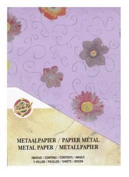 Metaalpapier bloem 9304