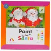angel malma paint your santa set