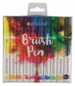 talens ecoline brush pen set 10 kleuren