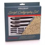william mitchell script calligraphy set 35909