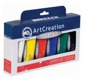 talens artcreation acrylverf set 6x75ml