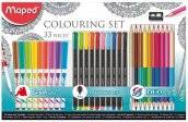 maped colouring set